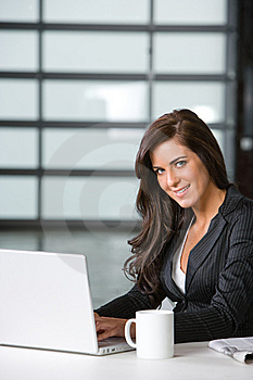 Business Woman In A Modern Office Royalty Free Stock Photos - Image: 8831348