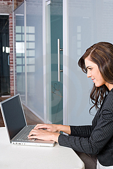Business Woman In A Modern Office Royalty Free Stock Images - Image: 8831739