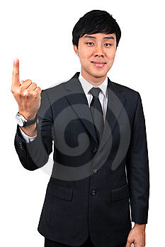Young Asian Business Man. Royalty Free Stock Image - Image: 8832876