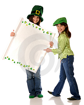 St. Patrick's Day Sign Stock Photos - Image: 8833133