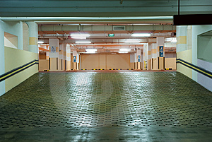 Carpark Interior Royalty Free Stock Images - Image: 8834899