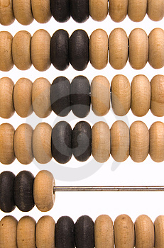 Obsolete Wooden Abacus Royalty Free Stock Photo - Image: 8837465
