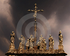 Statues Of Saints Royalty Free Stock Image - Image: 8838586