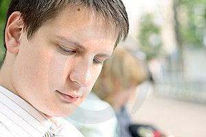 Hombre De Negocios Joven Imagenes de archivo - Imagen: 8841754