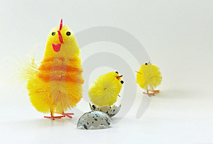 Easter Chickens Royalty Free Stock Image - Image: 8842036