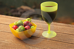 Wine And Fruit Stock Photography - Image: 8843692