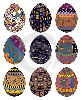 Easter Eggs Royalty Free Stock Photos - Image: 8843698
