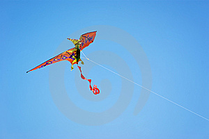 Pterdondon Dinosaur Kite Stock Images - Image: 8844784