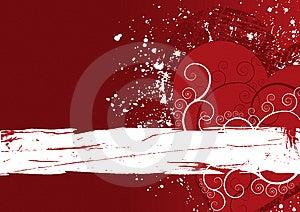 Grunge Background Heart Royalty Free Stock Photos - Image: 8844888