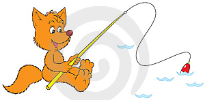 Fox Fisher Stock Photos - Image: 8846983