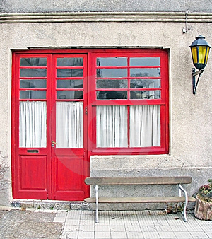 Red Door Royalty Free Stock Image - Image: 8846986