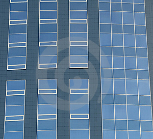 Abstract Crop Of Modern Office Skyscraper. Royalty Free Stock Photos - Image: 8847358