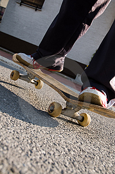 Teenager Skateboarding Royalty Free Stock Photography - Image: 8847377