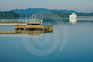 Upper Peirce Reservoir Stock Photography - Image: 8847462