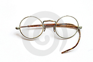 Old Spectacles Stock Image - Image: 8848041