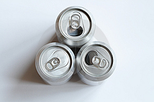 Three Cans Royalty Free Stock Image - Image: 8848076