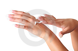Female Hands Royalty Free Stock Images - Image: 8849649