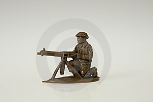 British Toy Soldier Stock Photo - Image: 8850380