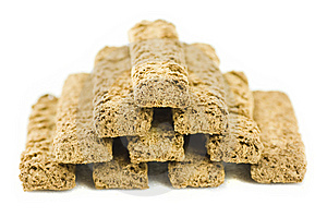Bran Biscuits - Pyramid -4 Stock Photography - Image: 8850522