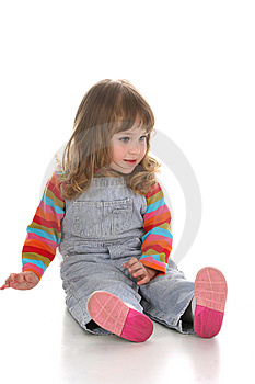 Beauty A Little Girl Stock Photos - Image: 8852723