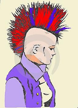 Punk Princess Royalty Free Stock Photos - Image: 8852968