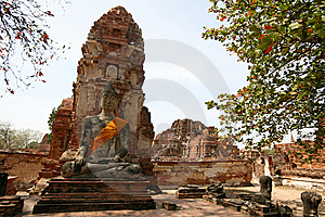Monuments Of Buddah Royalty Free Stock Image - Image: 8853136
