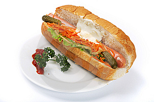 Hotdog Stock Photo - Image: 8854260