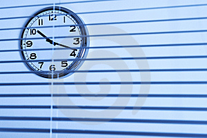Office Clock Stock Photography - Image: 8855542