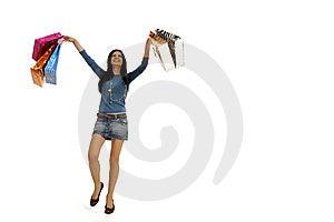 Shopping Fun Royalty Free Stock Photos - Image: 8855738
