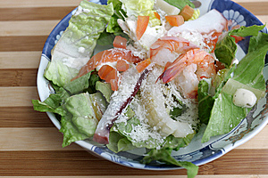 The Mediterranean Salad Stock Photos - Image: 8856403