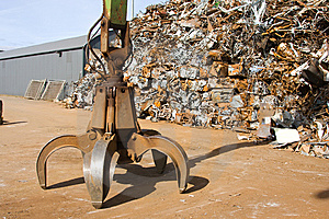Crane Grabber Stock Photo - Image: 8856650
