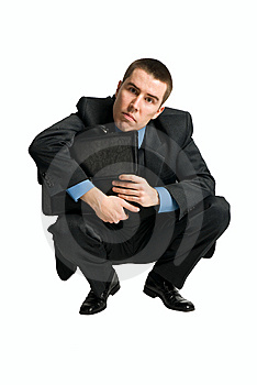 Businessman Looking Directly To The Camera Stock Photos - Image: 8856873
