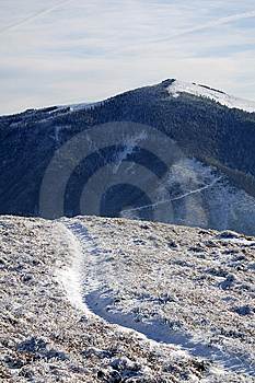 Snowed Mountain Stock Photography - Image: 8856882