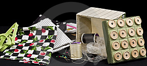 Sewing Items Royalty Free Stock Photos - Image: 8860448