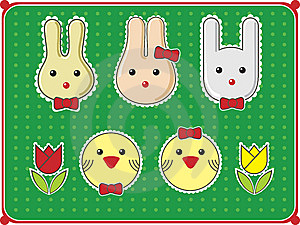 Easter Decorations Royalty Free Stock Images - Image: 8860639