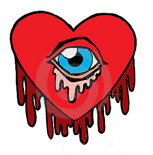 Bleeding Heart Cyclops Royalty Free Stock Photography - Image: 8860997