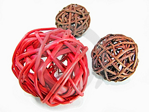 Wicker Balls Stock Photos - Image: 8862283