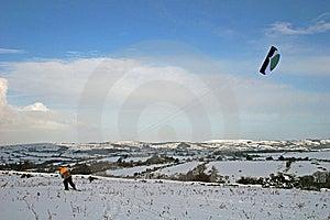 Kite Skiing Stock Photography - Image: 8863342