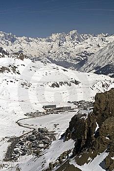 Ski Resort Tignes Royalty Free Stock Photography - Image: 8864397