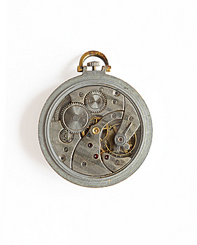 Old Watch Mechanism Royalty Free Stock Photos - Image: 8865908