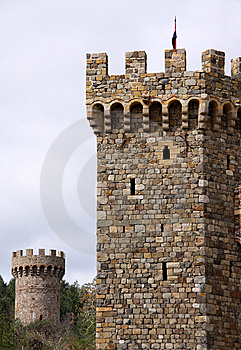 Castle Towers Stock Photos - Image: 8865963