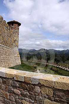 Castle Tower Stock Image - Image: 8866001