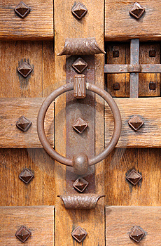 Old Wooden Door Royalty Free Stock Photo - Image: 8866055