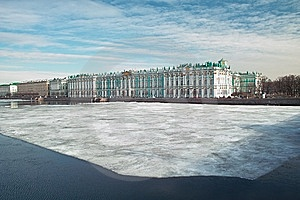 Winter Palace Stock Images - Image: 8866404