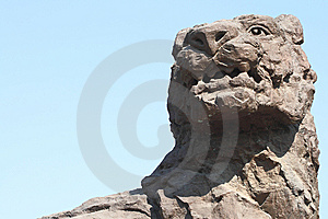 Stone Lion Stock Photography - Image: 8867482