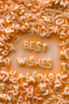 Best Wishes Stock Photo - Image: 8867790