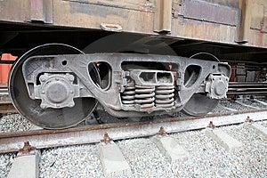 Train Wheels Stock Image - Image: 8870881