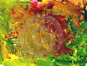 Abstract Gouache Dabs Royalty Free Stock Photography - Image: 8872057