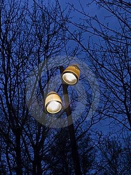 Street Lighting Royalty Free Stock Photo - Image: 8872115