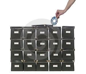 Storage Boxes Stock Photos - Image: 8872423